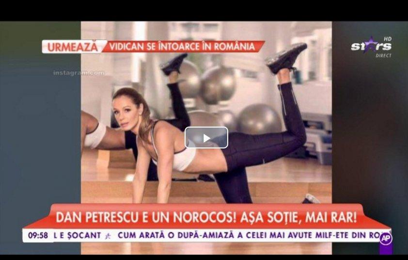 Antena Stars: Adriana Petrescu, cea mai sexy sotie de antrenor